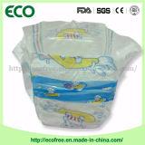 等級の快適な布はBacksheet +PEの先を細くすることの赤ん坊のおむつを好む