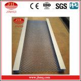 El panel de aluminio soldado de la valla de seguridad de los paneles de acoplamiento de alambre (Jh112)