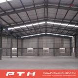 Entrepôt préfabriqué de structure métallique pour le chantier de construction