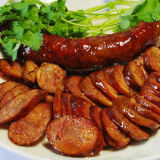 Tagliatrice industriale della ciotola della carne di salsiccia