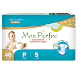 Tecidos macios e respiráveis do bebê com pacote azul
