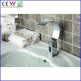 Fyeer New Design Cold Only Waterfall Sensor Tap Automatic Basin Faucet Bathroom Electrical Basin Robinet
