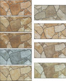 Porcelain Brown Natural Granite Stone Mosaic Wall extérieur (200X400mm)