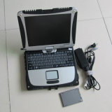 A auto estrela C4 SD do MB da ferramenta diagnóstica coneta C4 + software do SSD + portátil CF19 para Panasonic Toughbook pronto para trabalhar