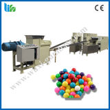 マルチ作用した中心によって満たされる球のフーセンガム機械