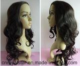 새로운 형식 꼬부라진 가발 Remy 여성 합성 머리