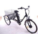 Tricycle électrique de cargaison d'armature légère d'alliage d'aluminium
