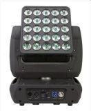 이동하는 맨 위 마술 위원회 빛 25 피스 10W LED