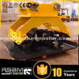 Alta qualidade Hydraulic Vibrating Plate Compactor para 1-80t Excavator