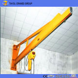 Standing libre 360 Degree Jib Crane con Electric Wire Rope Hoist