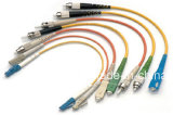 cavi ottici multimodi della zona della fibra della chiusura lampo 2mm Ofnr della fibra 50/125um Om2 2