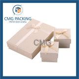 Коробка упаковки ювелирных изделий с Silk тесемкой (CMG-PJB-027)