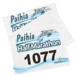 Подгонянная пронумерованная гонка марафона идущая бумажная Bibs