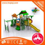 Brinquedos plásticos do campo de jogos do equipamento ao ar livre das crianças do jogo do jogo