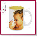 Mejorsub著15oz Inside Color Mug Sublimation Coated