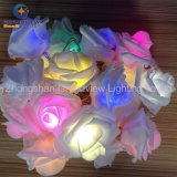 festa nuziale Christmas Decoration di 3meter 20 LED Rosa Flower RGB LED Fairy String Lights