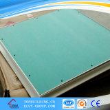 Placa de gipsita da resistência de umidade/placa do Plasterboard/Drywall 1200*2400*12mm