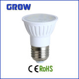 Plastique et Aluminium GU10 5W SMD DEL Spotlight (GR631)