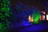 Kerstmis steekt de Lichten van de Openlucht, Laser van de Tuin aan