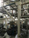 Utilizado del enfriamiento interno de la burbuja de la coextrusión de tres capas (IBC) Acarrear-apagado la cadena de producción rotatoria de la película