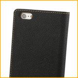 Caja del cuero del teléfono móvil para el iPhone 6