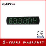 [Ganxin] horloge de mur du grand dos DEL Digital de bonne qualité