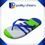 Sandalo unisex della spiaggia delle donne degli uomini di caduta di vibrazione di verde blu del blu marino
