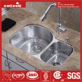台紙の倍ボールの台所の流しの下の34 「X 20-1/2」のステンレス鋼