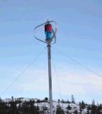 Minder 25dB Turbogenerator van de Wind van de As van het Gebruik van het Huis Verticale