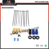 Cable de cableado del coche de los kits del cableado del amplificador audio del amperio de la alta calidad de la fábrica fijado (AMP-014)