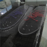 Kein Bruch Transparant Polycarbonat, das Skateboard läuft