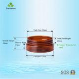 50ml amber Plastic Kruik met de Zwarte Kruik van de Room van de Reis van de Schroefdop