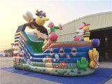 Barco inflable del pirata de la abeja de la venta caliente 2016 para los cabritos