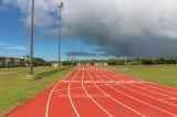 Wetterbeständigkeit-synthetische laufende Gummispur (IAAF &CE Standard)