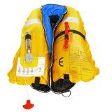 Solas 기준과 세륨 승인되는 유형을%s 가진 150n 바다 팽창식 구명 재킷