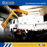 XCMG Sq6.3zk2q 6.3ton折アームトラックによって取付けられるクレーン