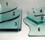 Máquina de cristal del ribete de la dimensión de una variable especial horizontal del CNC para el vidrio de la aplicación
