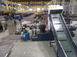 De Machine van de Granulator van de Ring van het water voor de Plastic Film van het Afval