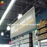 Rullo promozionale su ordinazione della bandiera della flessione del PVC di Wolesale