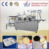 機械を作るプラスチック薬の皿