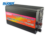 格子インバーター(HAD-1500B)を離れたSuoer 1500Wインバーター24V 220V