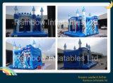 Castello di salto congelato gonfiabile del fumetto per affitto