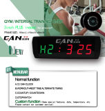 [Ganxin] Display LED de 3 polegadas Fitness Sports Digital LED Alarm Clock