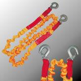 Cinghia Emergency della corda di rimorchio dell'automobile dell'amo del metallo/rimorchio dell'automobile