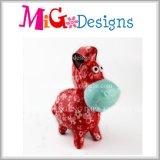 Caixa de moeda cerâmica da decoração Home com o cavalo pequeno de Cuted