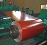 Bobina de aço revestida cor 0.18-1.00mm*600-1250mm do Galvalume