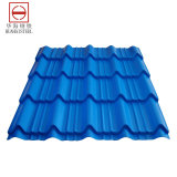 윤곽을 그린 지붕 색깔 강철판