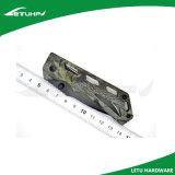 Lama Pocket di EDC di rivestimento del camuffamento scopo nero della maniglia di multi