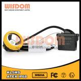 Kl5msのリチウム電池LEDの安全灯、LEDの帽子ランプ