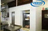Двойной лифт Dumbwaiter перевозки архивов товаров еды обслуживания
